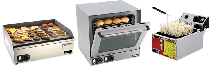 Fryers, Grills & Ovens
