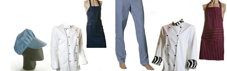 APRONS & CHEF'S CLOTHING