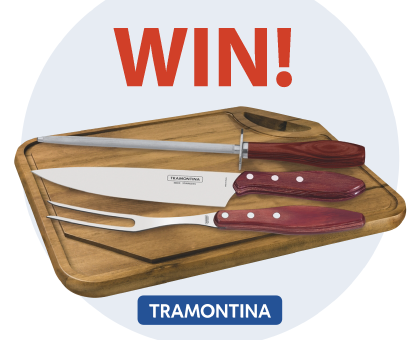 Competition: WIN a Tramontina 4pc BBQ Set valued at over R2000