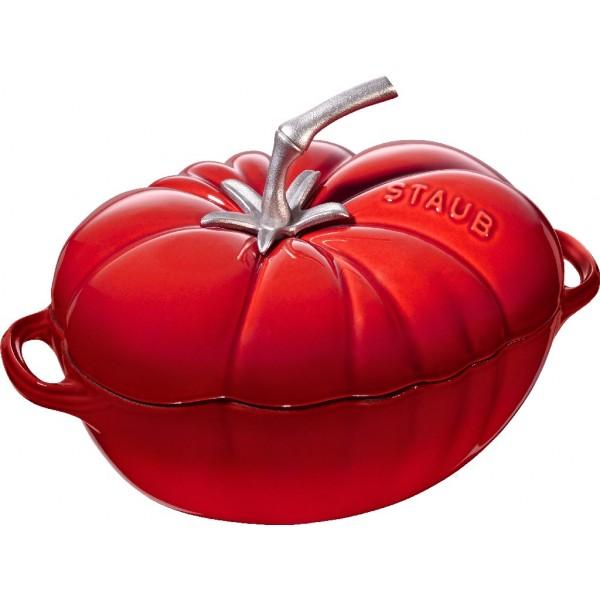 Staub Oval Tomato Cocotte Cherry 25cm