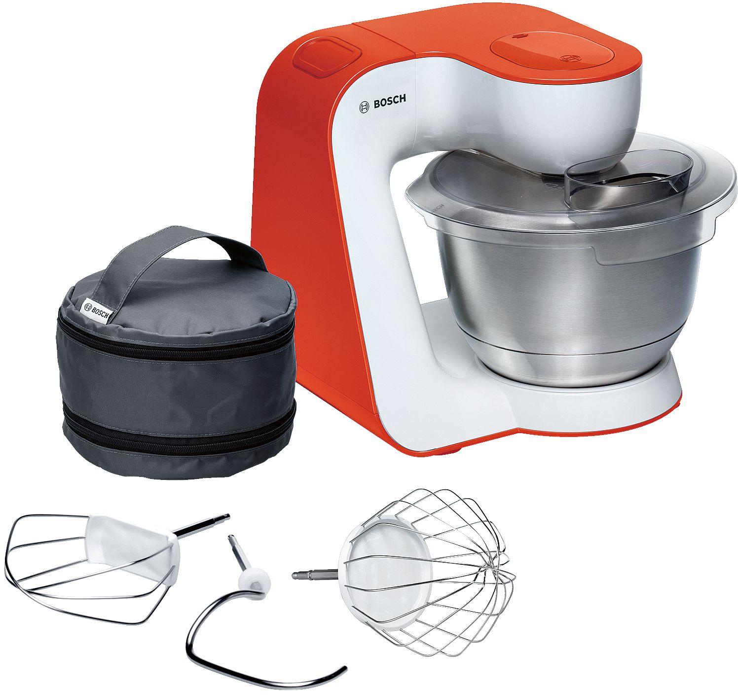 Bosch StartLine Home Kitchen Mixer White & Orange 900W